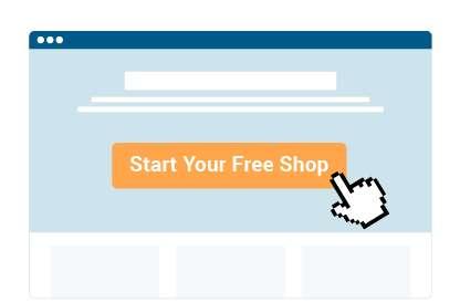 Eröffne einen kostenlosen Shop