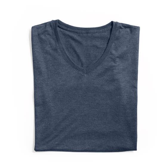 T-Shirts mit V-Ausschnitt