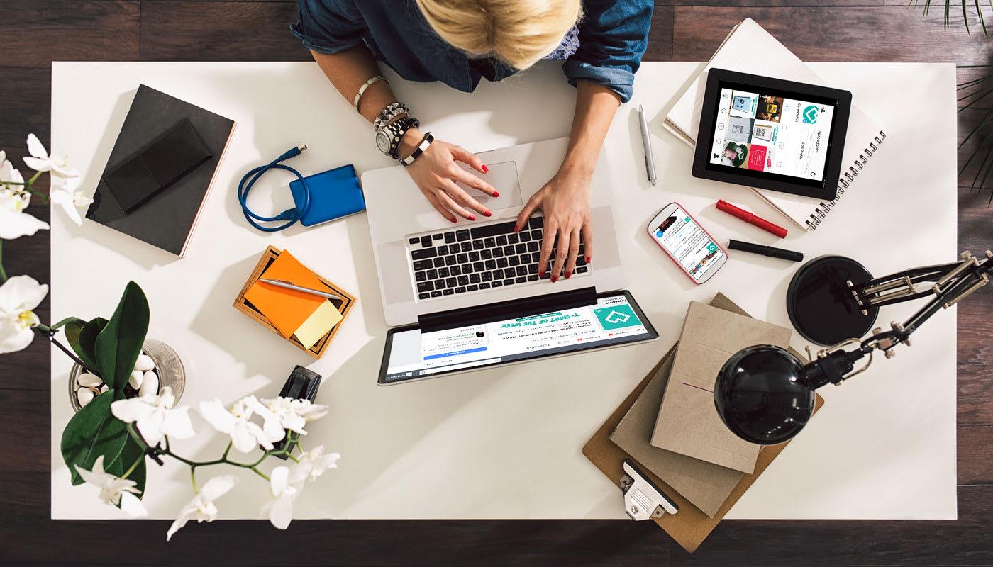Marketing für Shops und Designs: Social Media