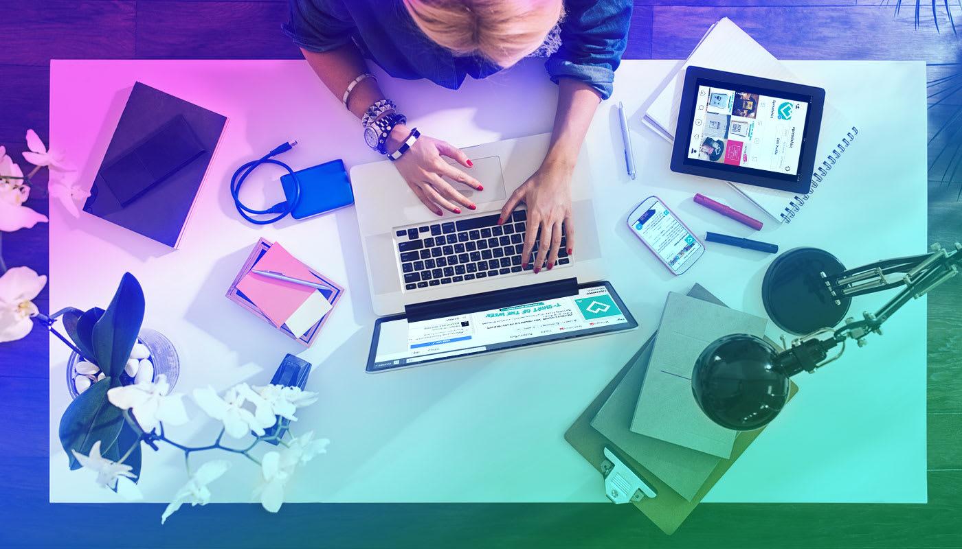 Marketing für Shops und Designs: Apps und Kampagnen