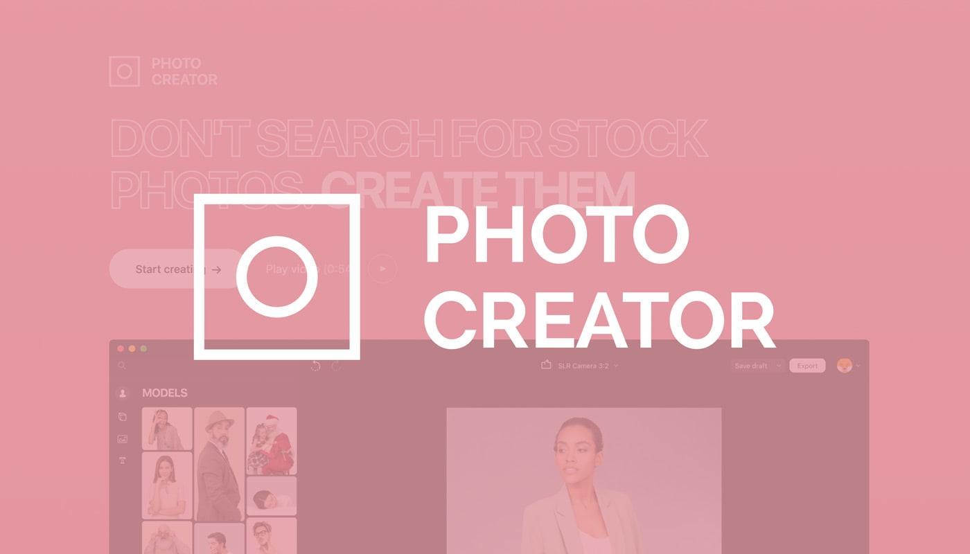 Gestalte eigene Ads & mehr mit Icons8 Photo Creator