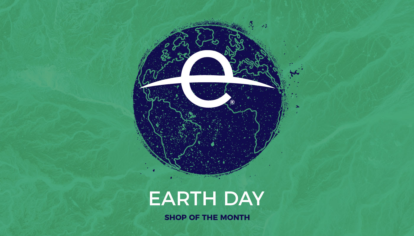 Go Green with Earth Day, our featured Shop of the Month
