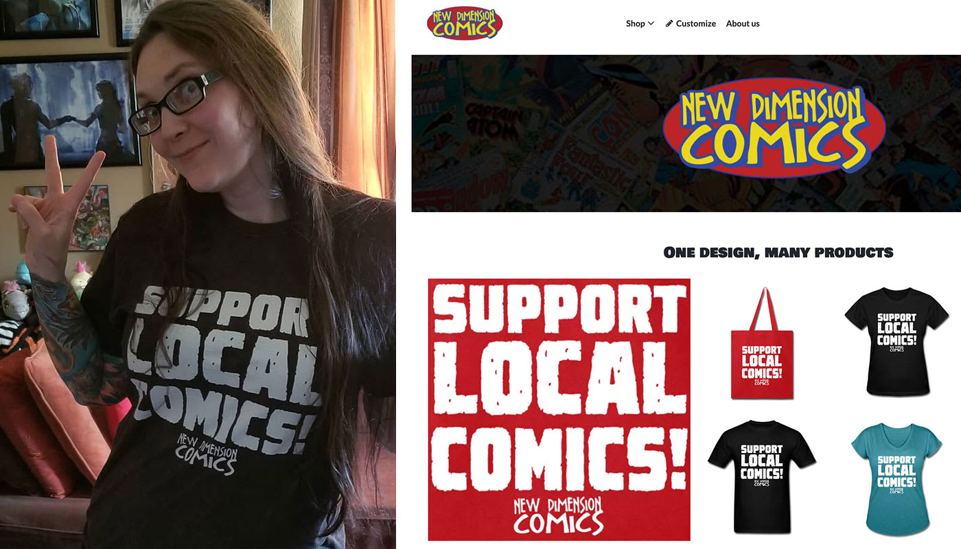 Stronger Together with New Dimension Comics