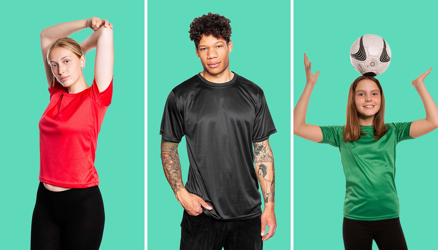 NEW: Breathable T-Shirt (Europe)