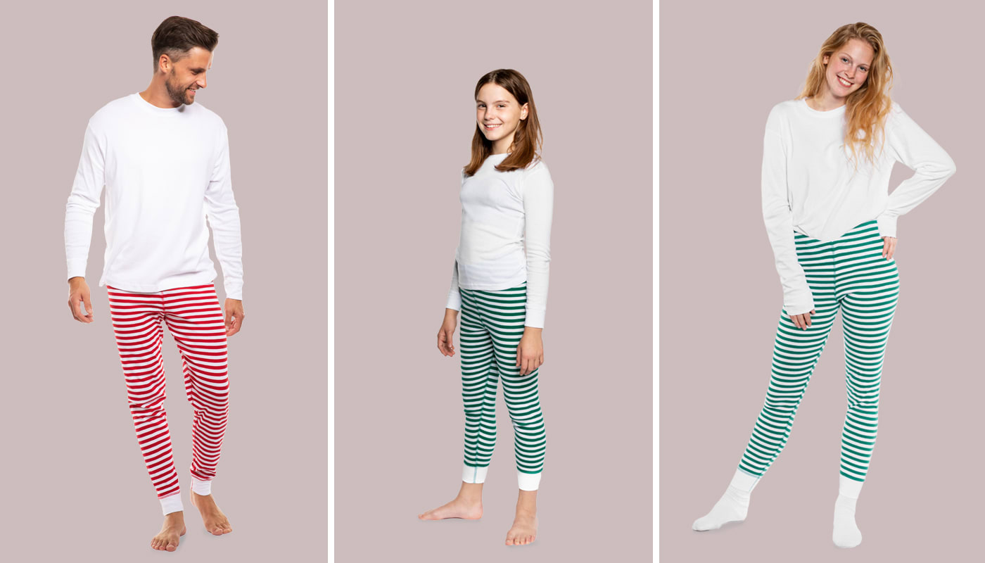 NEW: Adult Unisex Pajamas and Kids Pajama Set (North America & Oceania)