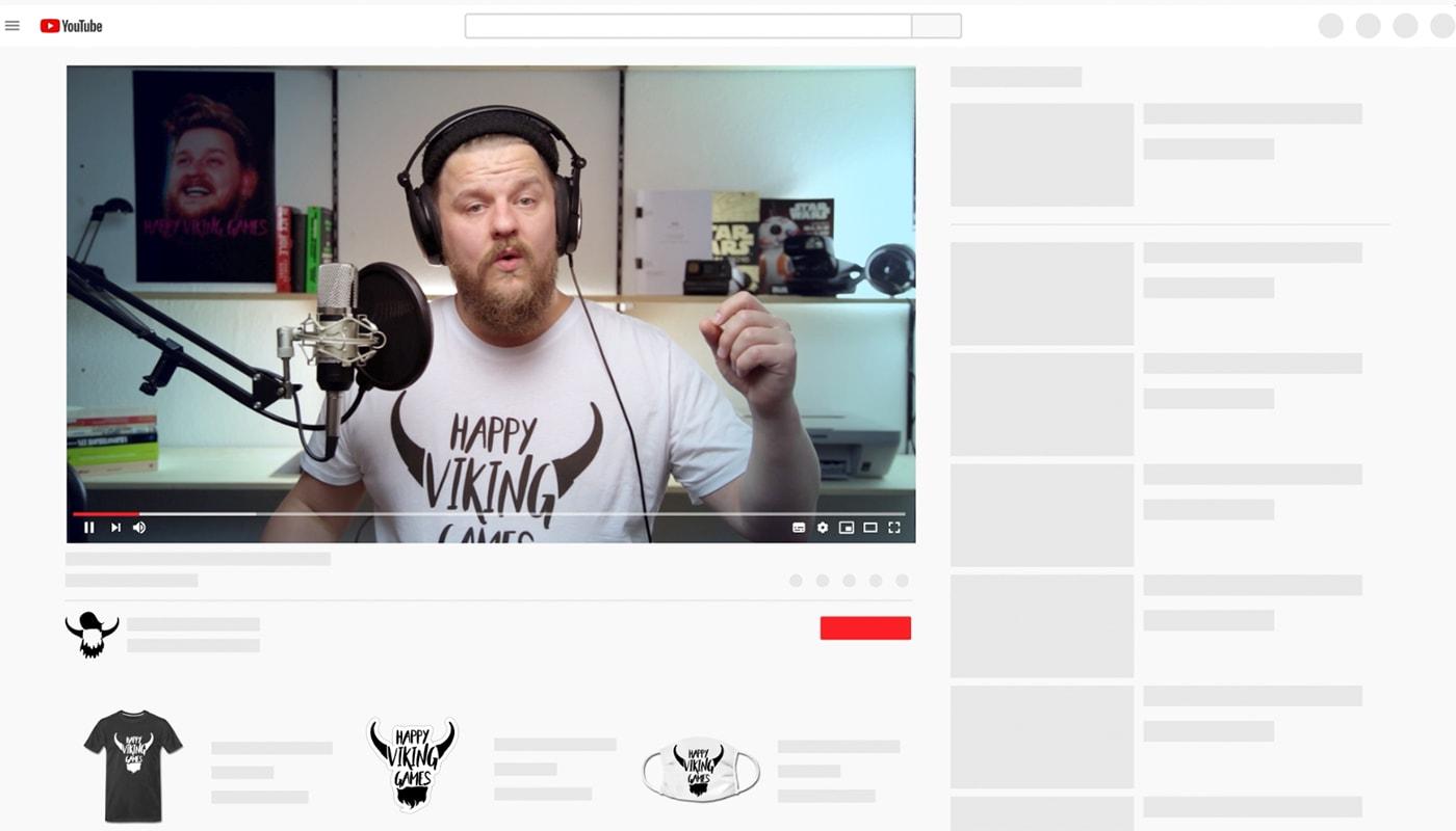 YouTube und Spreadshop präsentieren: Dein Merchandise