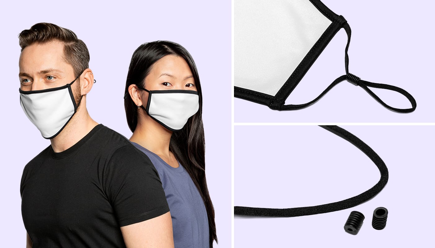 New: Contrast Face Mask (Europe)