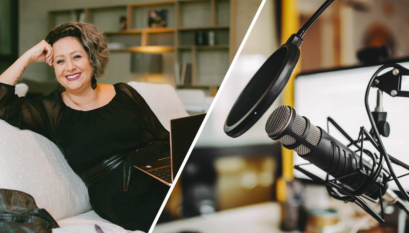 Podcasts & Spreadshop. Wie Jasmin Volck ihr Merchandise manifestiert.