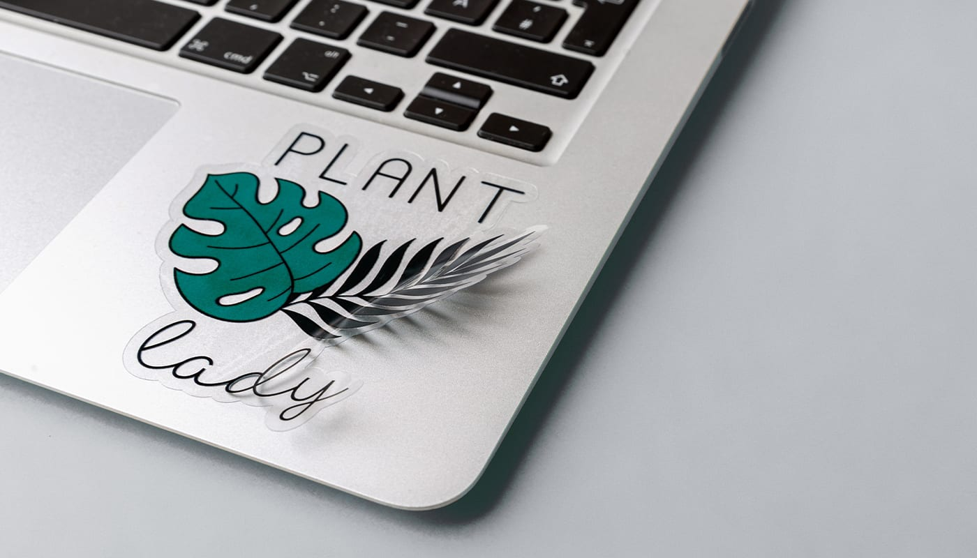 New: Glossy Transparent Stickers