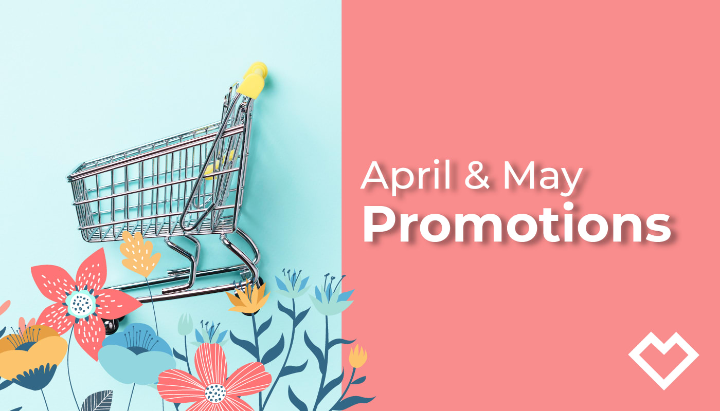 April—May 2021 Promotions
