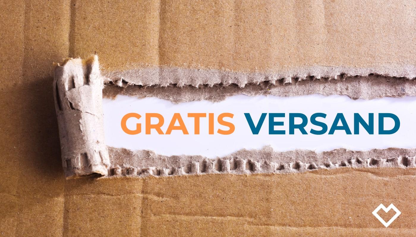 Im Test: Gratis Standardversand für Shop-Bestellungen ab 49,99 €