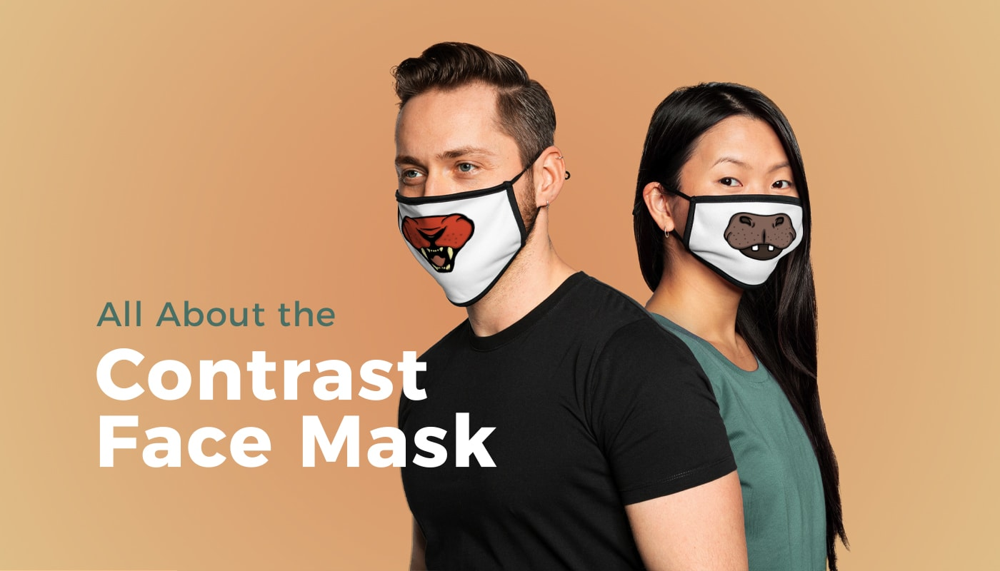 New: Contrast Face Mask (North America & Oceania)