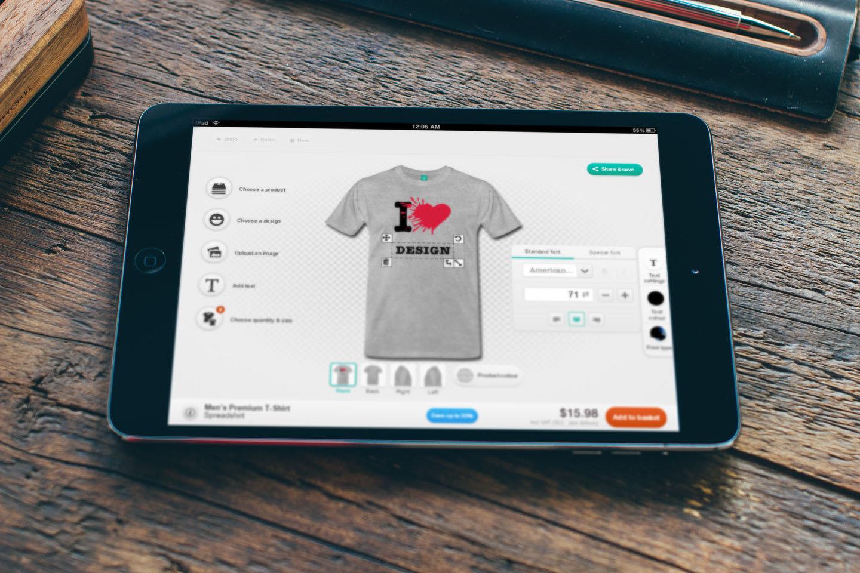 Mobile T-Shirt Designer