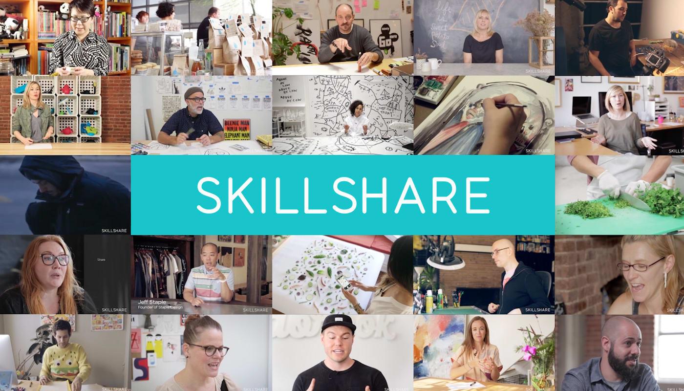 Inspirer & s'inspirer avec Skillshare