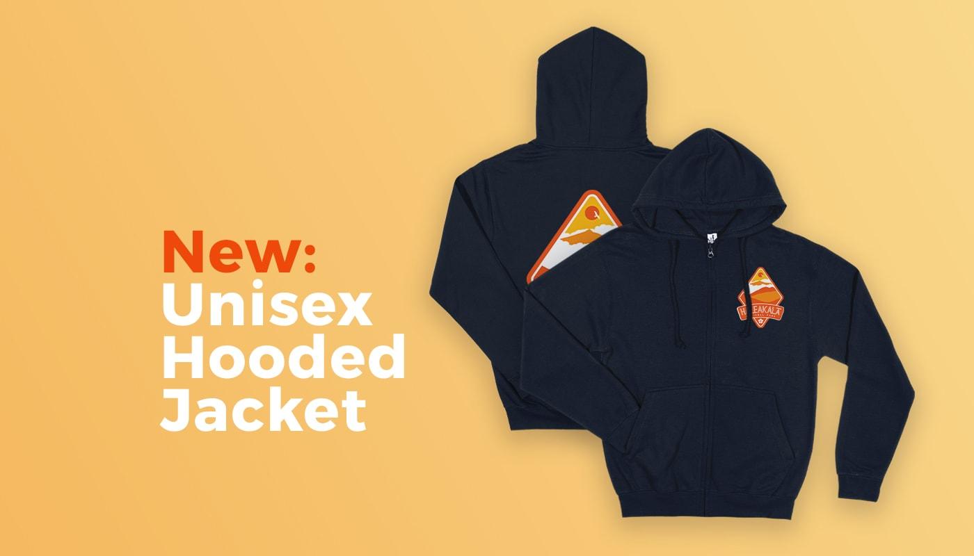New: Unisex Hooded Jacket (Europe)