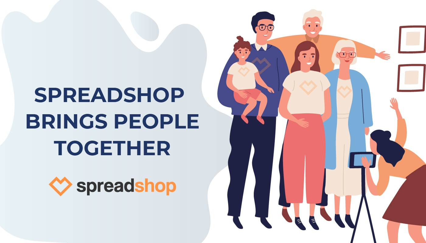 Spreadshop Merch Brings People Together