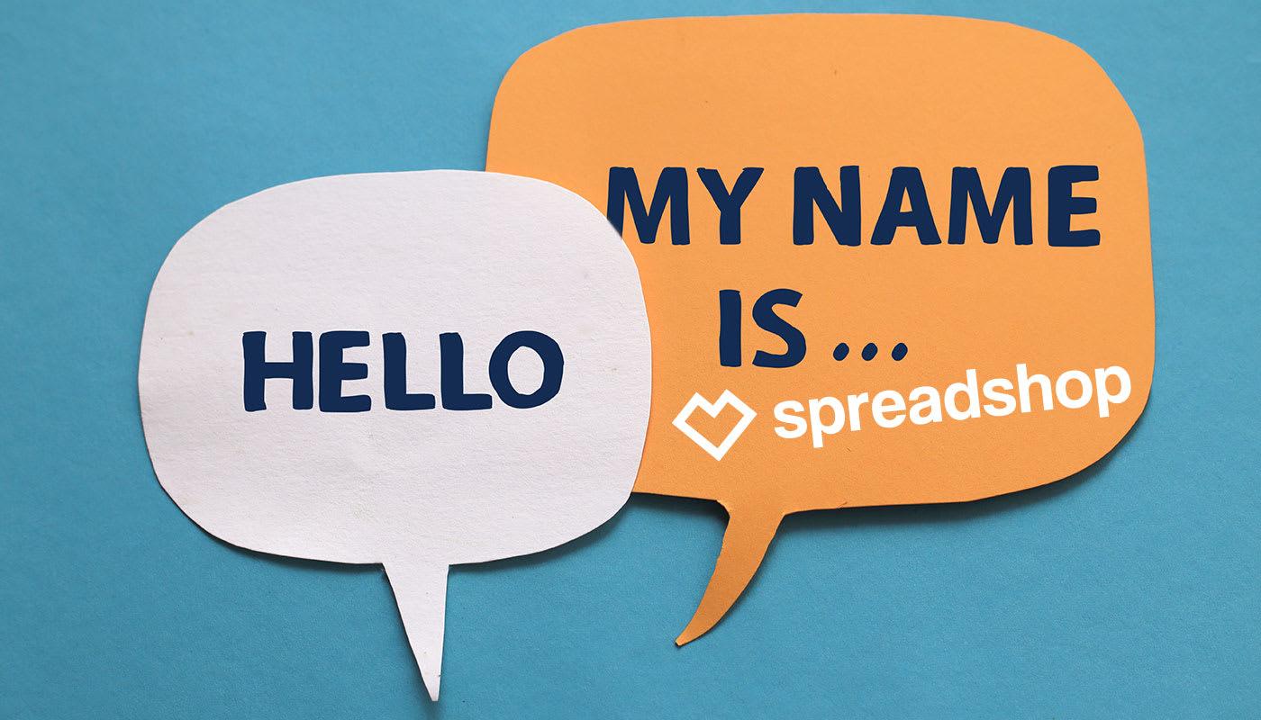 Hello. We are Spreadshop.