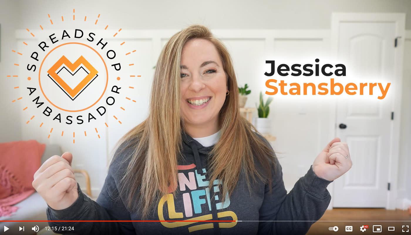 Jessica Stansberry   Spreadshop Brand Ambassador