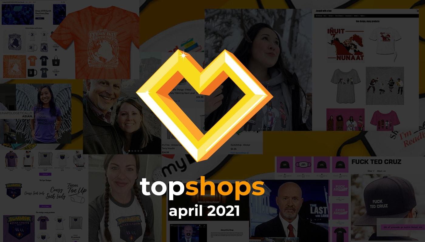 Best Selling Merch April 2021