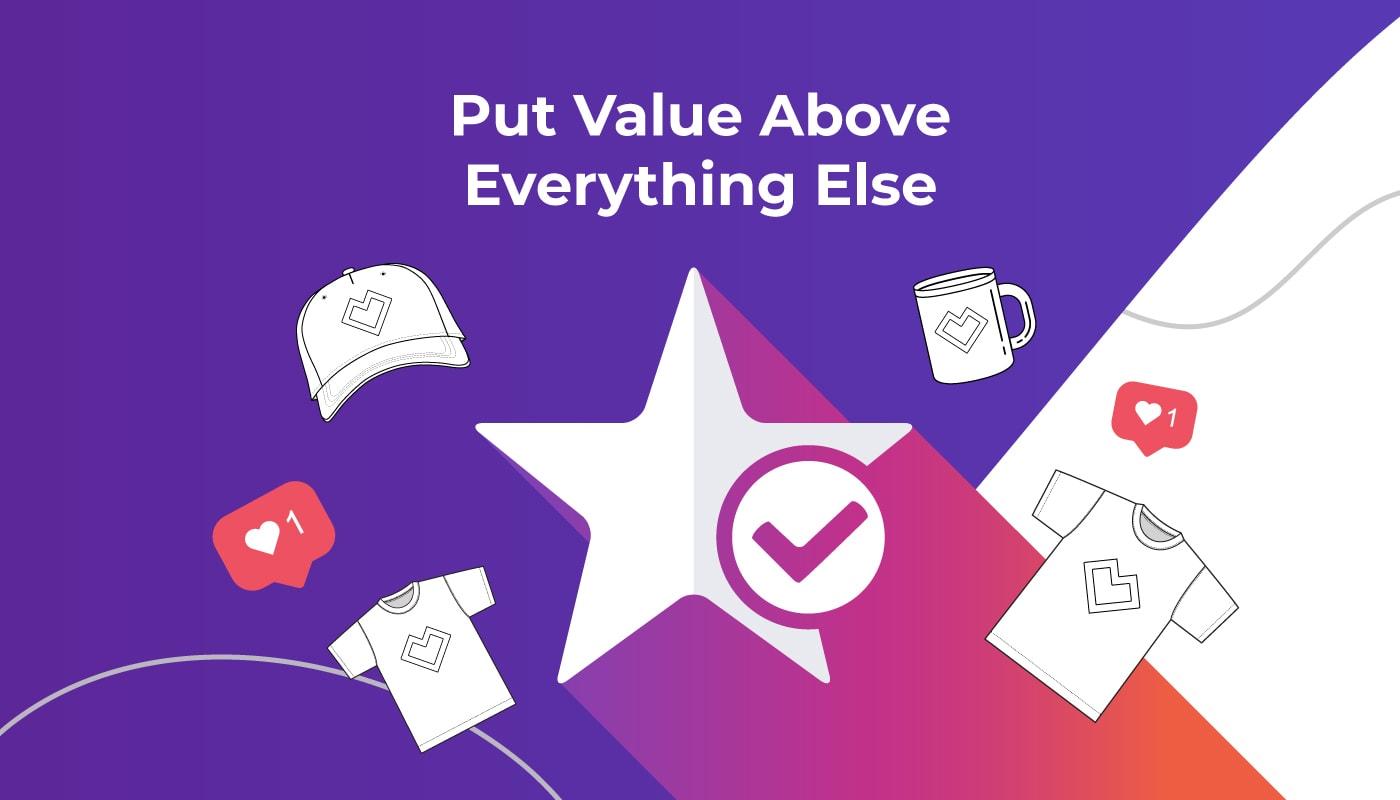 Put Value First