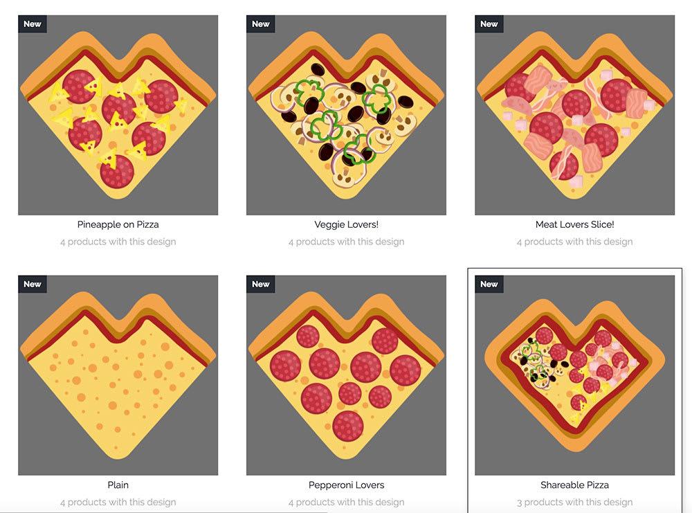 Pizza Shop Flavors