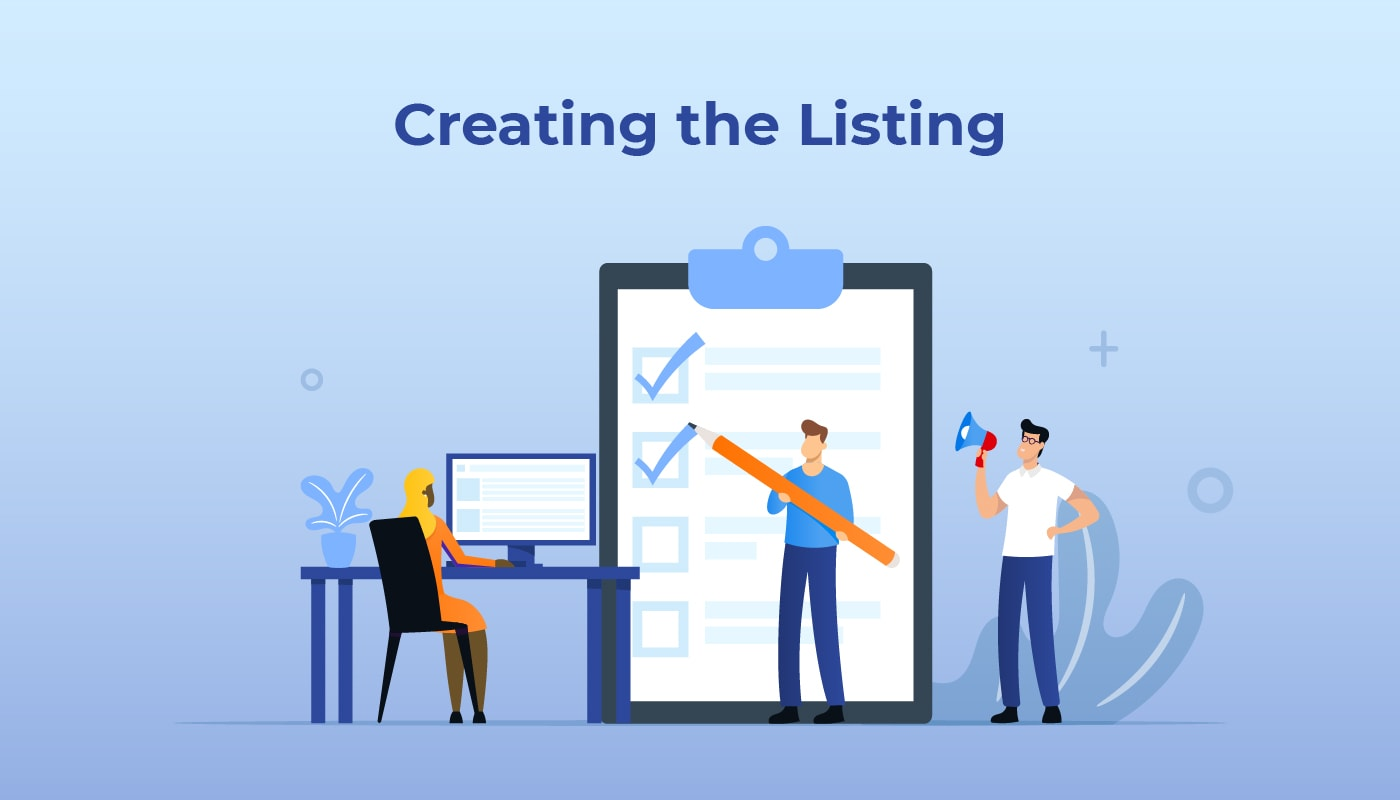Creating the Listing