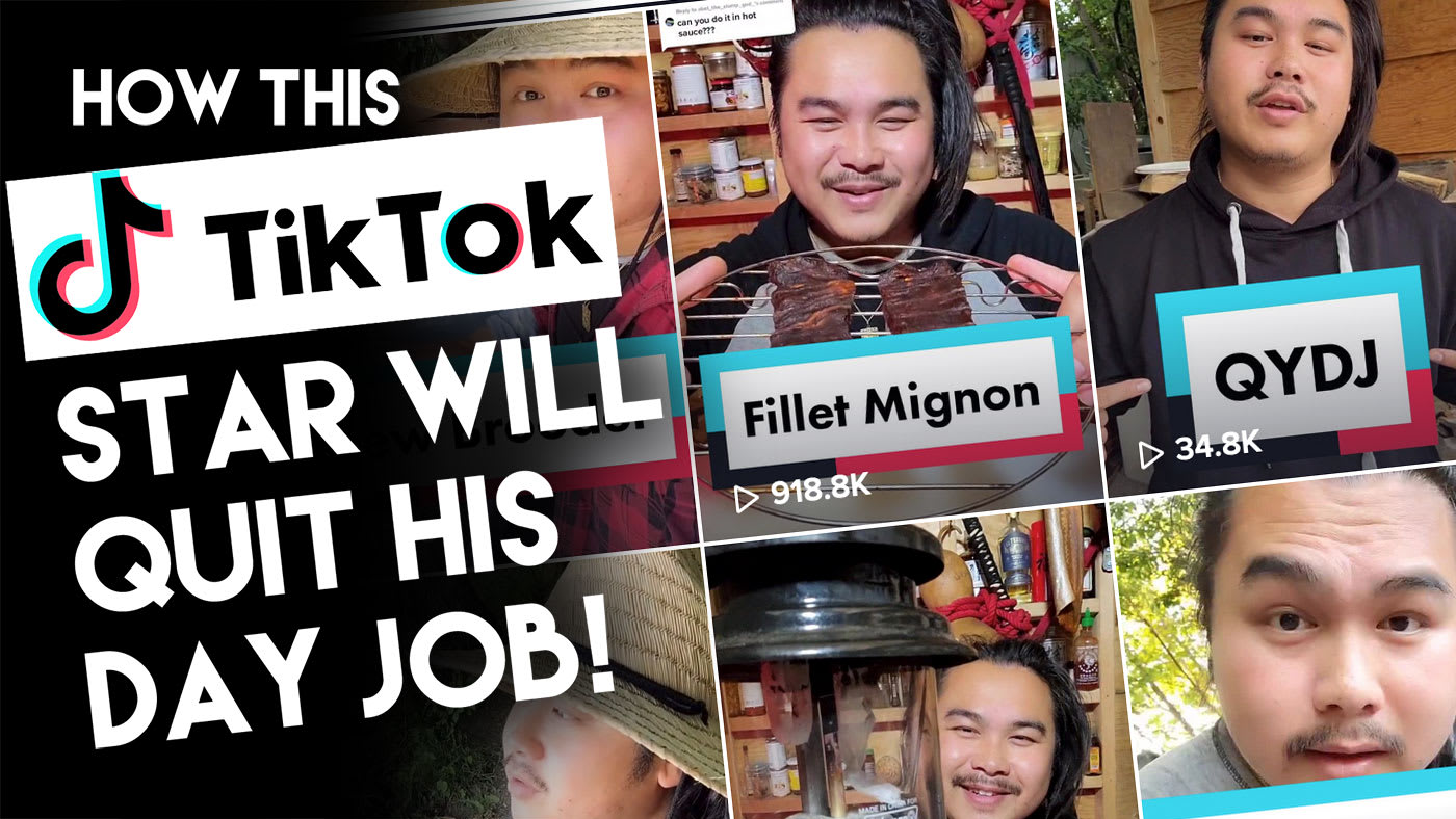 How A TikTok Star Will Quit His Day Job