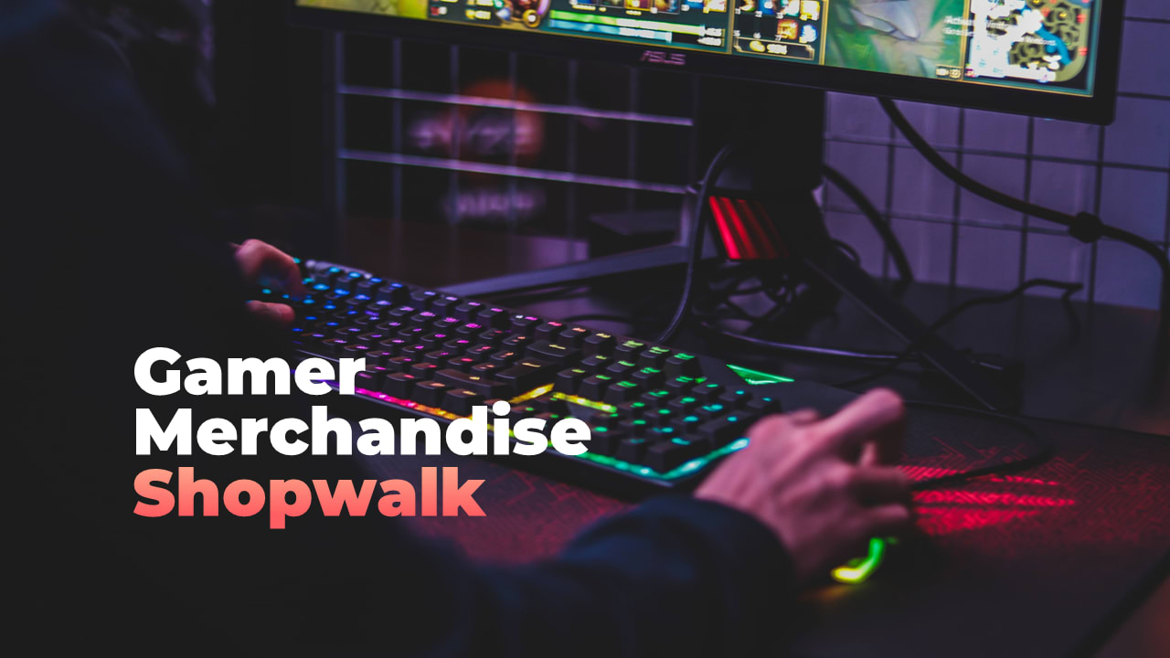Gamer Merchandise Shop – 5 e-sportifs talentueux!