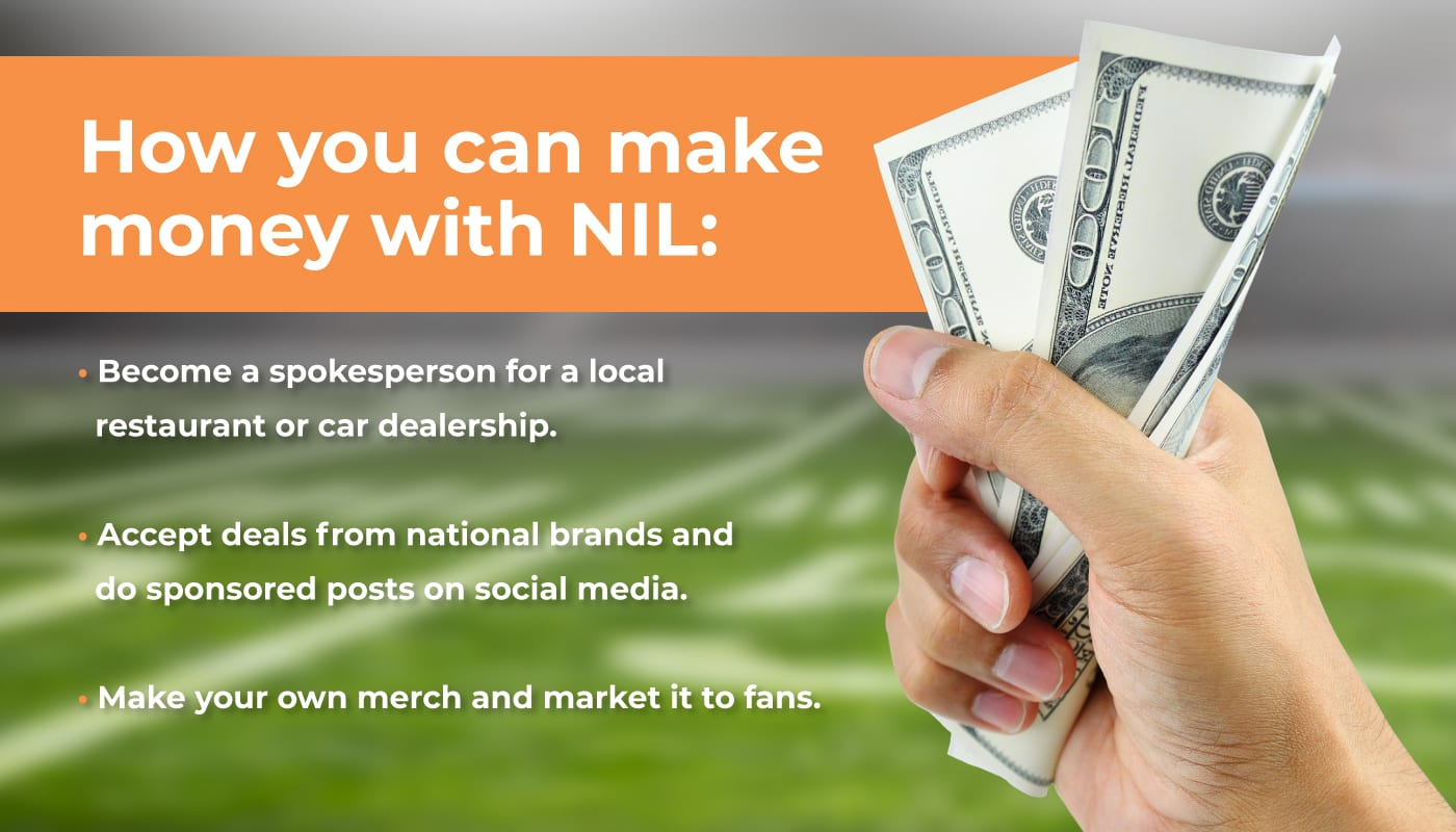 How You Can Make Money with NIL