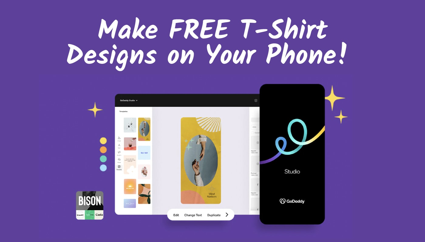 Make Free T-Shirt Designs on Your Phone. Here's How!