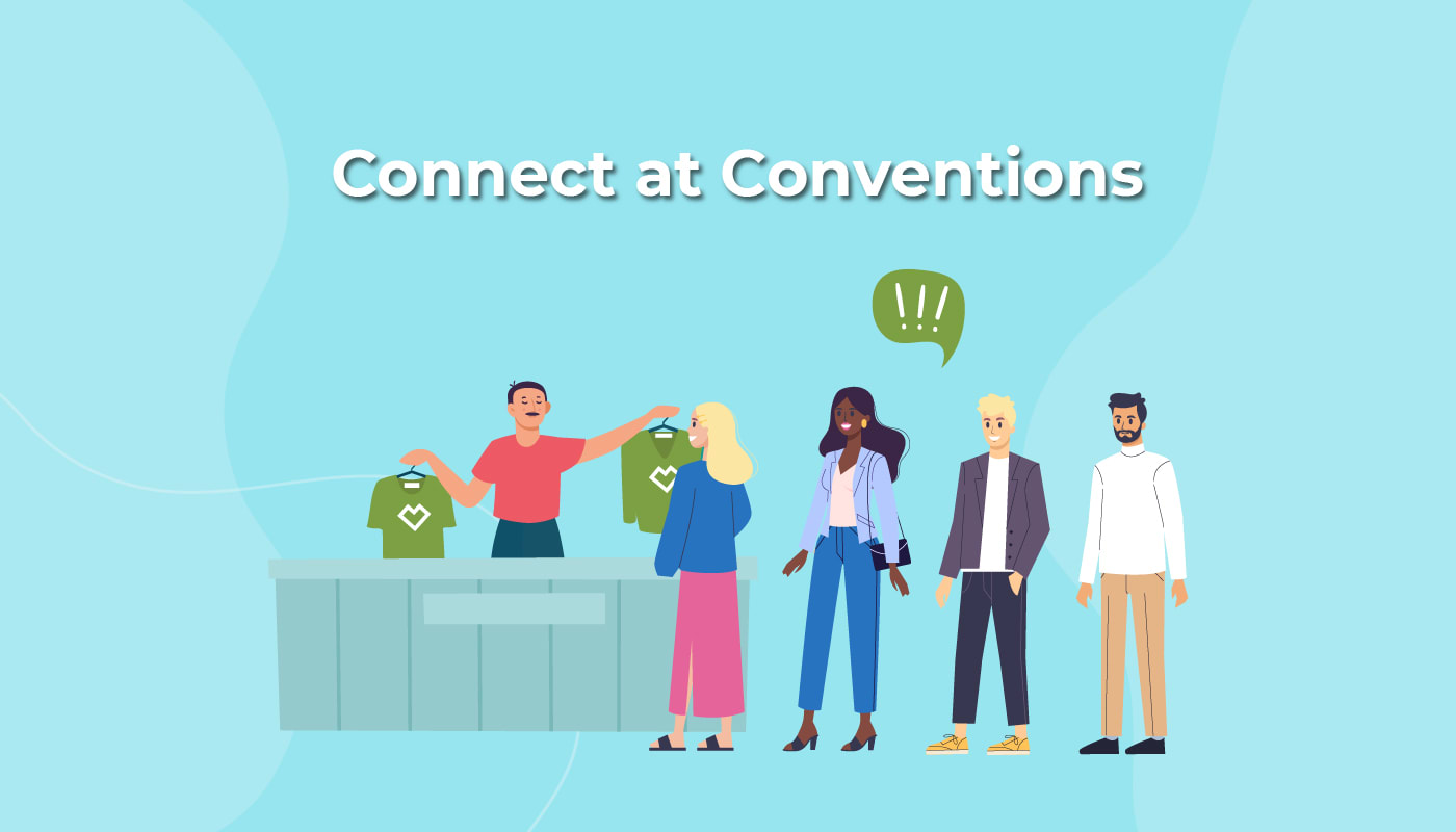 Connect at Conventions