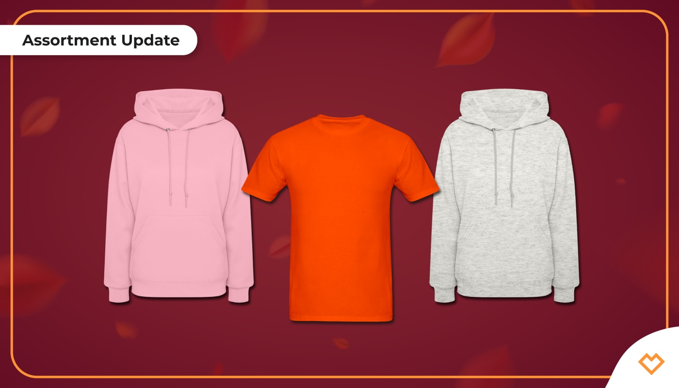 New Colors & Sizes: Assortment Updates for your Shop